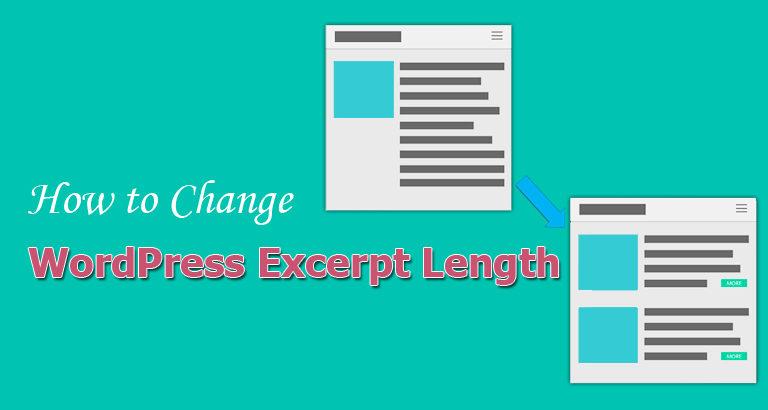 How to Change WordPress Excerpt Length