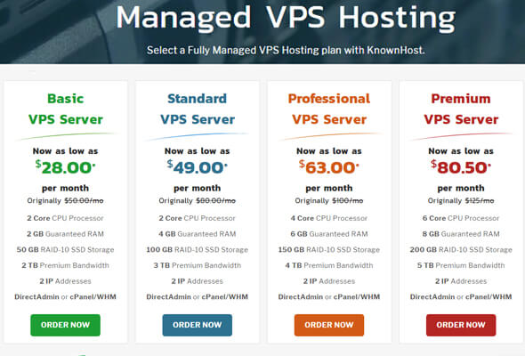 managed VPS hosting, knownhost shared cloud hosting review