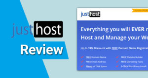 JustHost Review – Top Rated Web Hosting in 2021