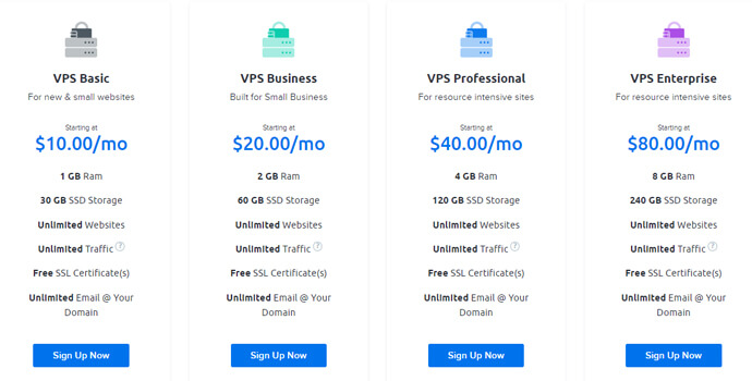 DreamHostweb hosting pricing plans, best cloud hosting for small business