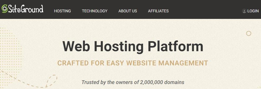 siteground web hosting, best magento web hosting