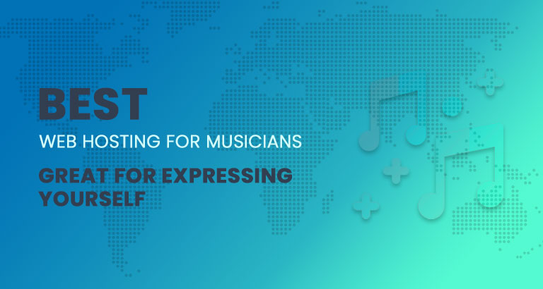best web hostings for musicians