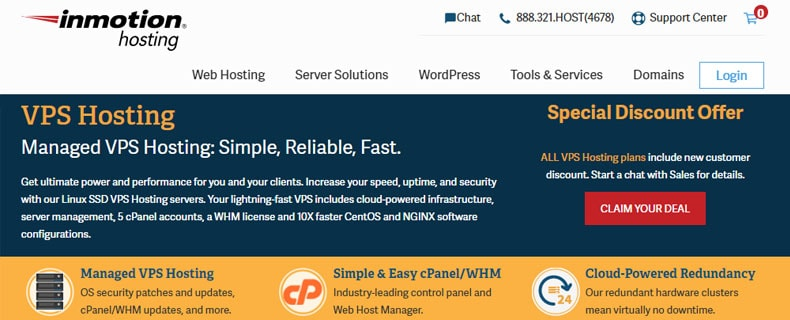 InMotion multiple domain hosting, best hosting for multiple websites