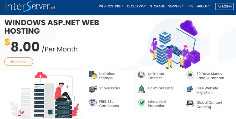 interserver asp net hosting, best asp net hosting