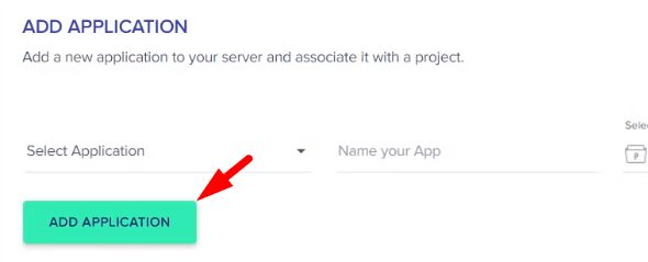 Add Application in Cloudways