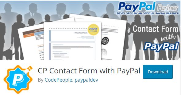 CP Contact Form with PayPal Plugin, paypal plugins for wordpress
