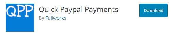 Quick Pay-pal Payments