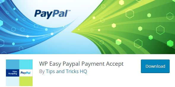 WP Easy Paypal Payment Accept Plugin, best wordpress paypal plugin