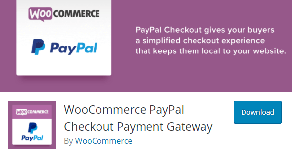 WooCommerce Pay-Pal Checkout Payment Gateway