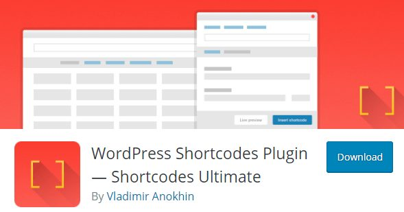 WordPress Shortcodes Plugin