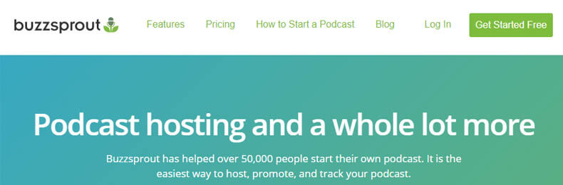 buzzsprout podcast hosting, best podcasting hosting