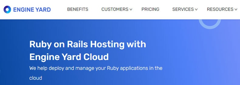 engineyard Ruby on Rails Hosting plan, best web hosting for ruby on rails