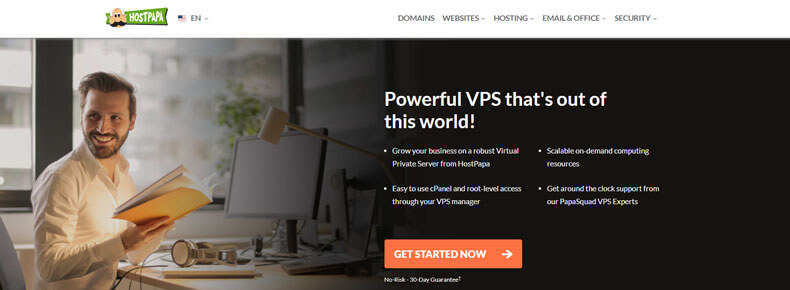 hostpapa vps hosting plan, best virtual hosting