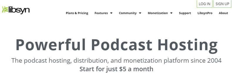 libsyn podcast hosting, best podcast hosting services