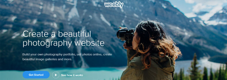 weebly photography website, best hosting sites for photographers