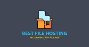 Best File Hosting – the Best Hosting Recommend for Host File