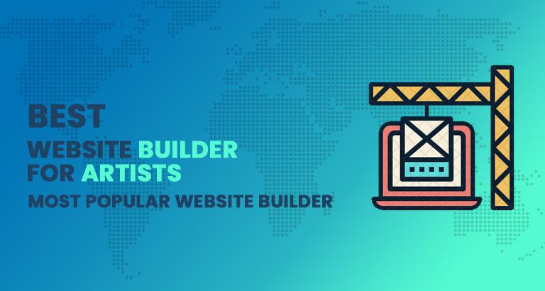best website builder - best website builder for artist