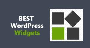 Best WordPress Widgets – That's Very Popular for Websites
