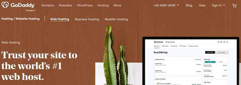 godaddy, Web Hosting for Small Business