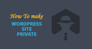 How to Make WordPress Site Private – Most Effective Way