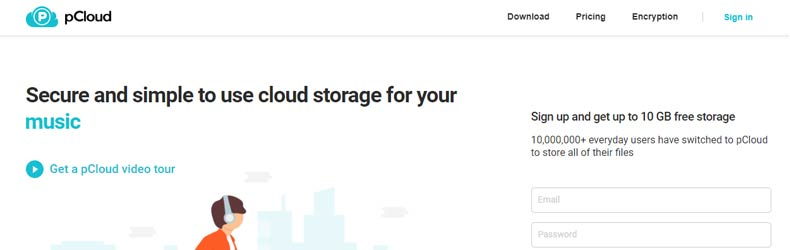pcloude, best file hosting