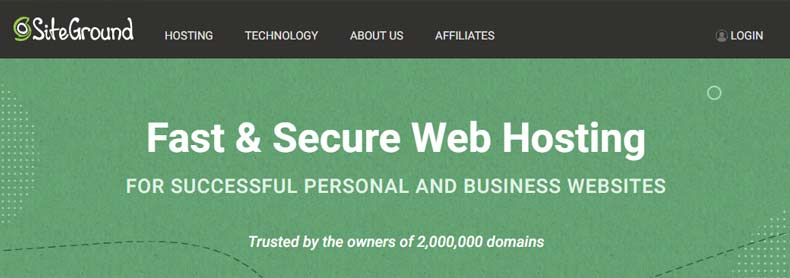 siteground personal web hosting, Best Web Hosting for Artists