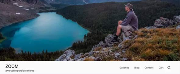 Best WordPress Themes for Travel Blogs, zoom theme