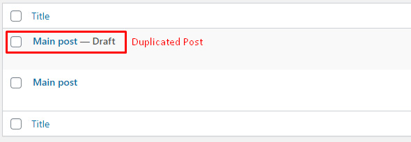 How to Duplicate a Page or Post in WordPress