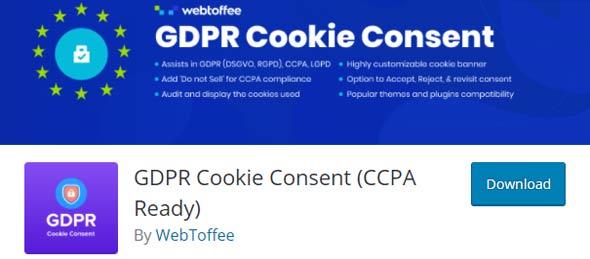 cookie concent plugin