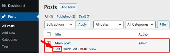 how to hide featured image in a wordpress post