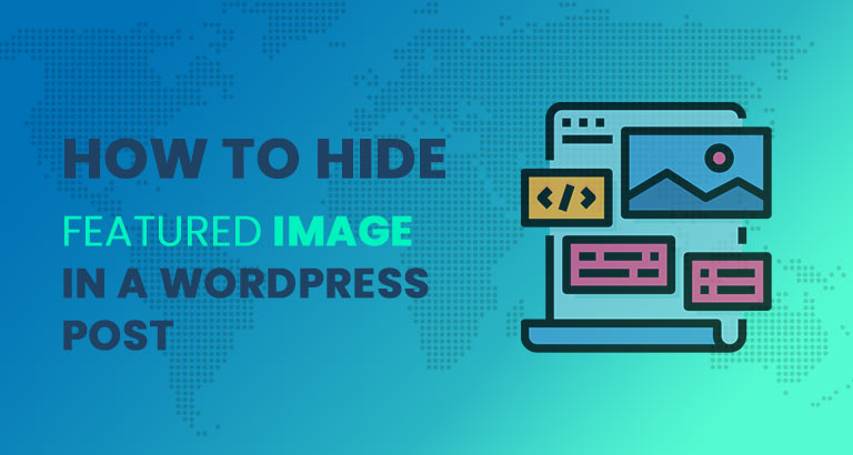 how to hide feature image in wordpress post