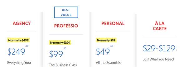 ninja form pricing plan, best wordpress contact forms plugin
