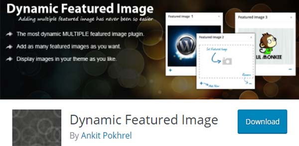 wordpress featured image plugins, Dynamic Featured Image